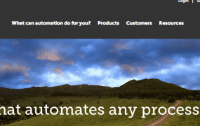 Automation Everywhere's homepage.