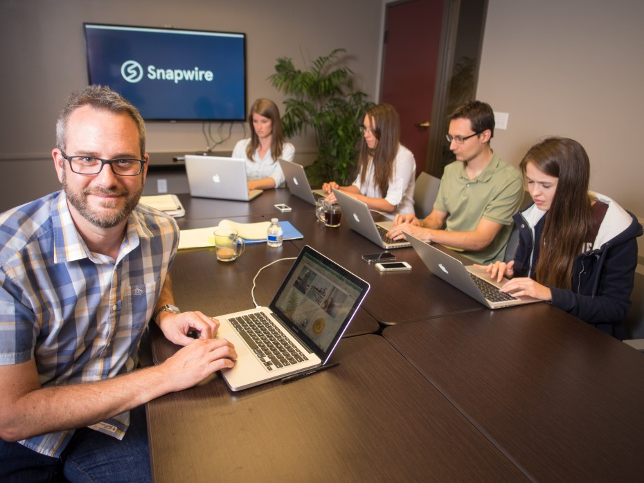 Snapwire founder and CEO Chad Newell