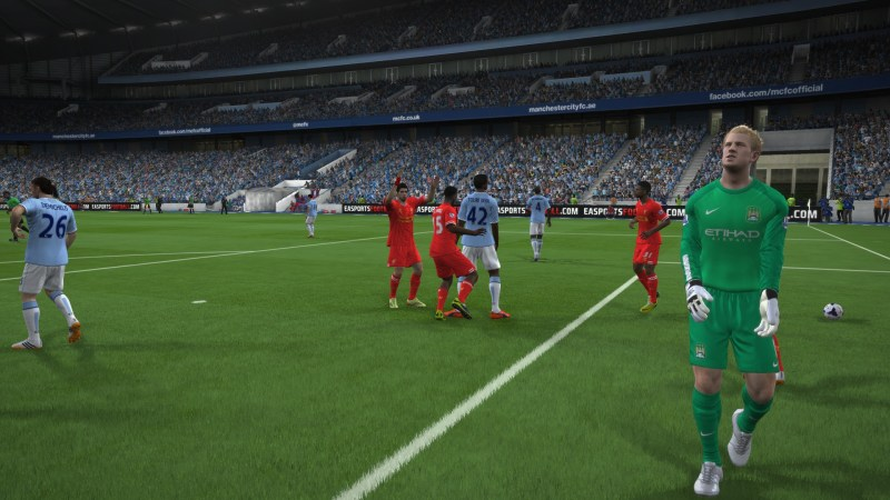 FIFA 14 Liverpool vs. Manchester City