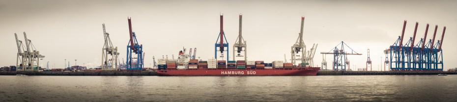 Hamburg harbor shipping crane Viktor Rosenfeld Flickr