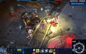 A screenshot for Turbine's Infinite Crisis.