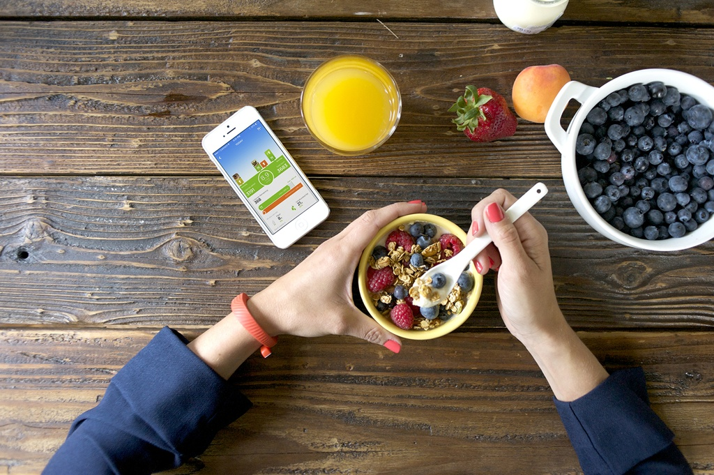 Food tracking with Jawbone's Up iPhone app