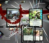 Duels of the Planeswalkers' vintage card battle in action.