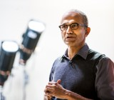 Microsoft chief executive Satya Nadella.