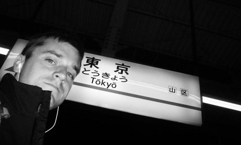 Dan Laughlin scopes Tokyo