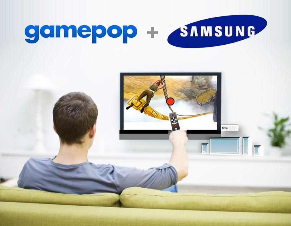 GamePop and Samsung