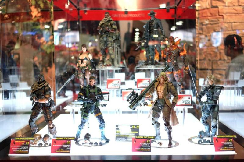 Metal Gear Solid V: The Phantom Pain got the Play Arts Kai treatment with its own set of collectible figures at this year's Comic Con.