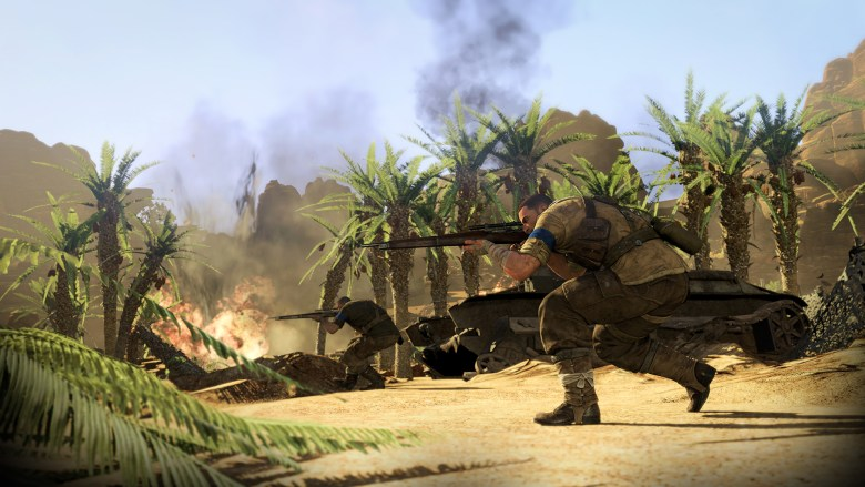Rebellion wanted to give players a constant and clear visual of where they needed to be in Sniper Elite III.