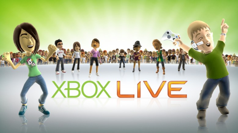 The avatars are excited because with Xbox Live down you can no longer strip them and put them in silly outfits.