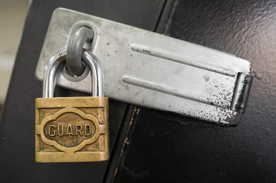 Security Lock key