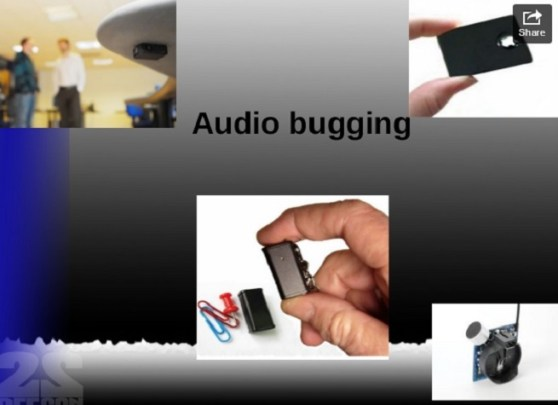 Detecting audio bugs