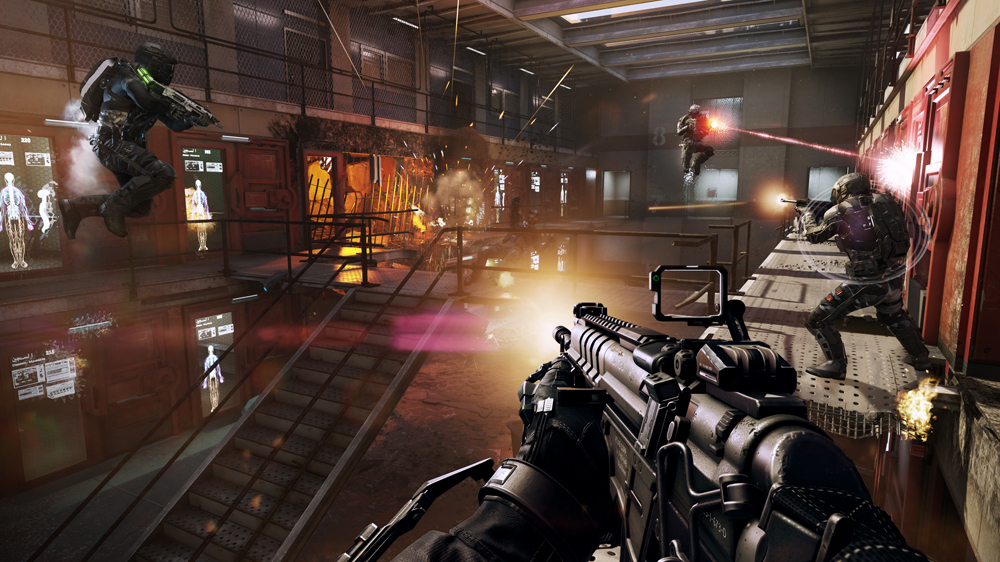 Call of Duty: Advanced Warfare's map Riot takes place in a destroyed prison.