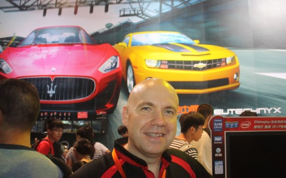 Darren Jobling, CEO of Eutechnyx.