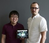 Famo.us co-founders Mark Lu and Steve Newcomb