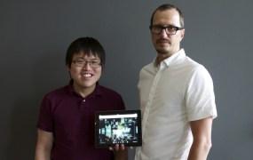 Famo.us co-founders Mark Lu and Steve Newcomb