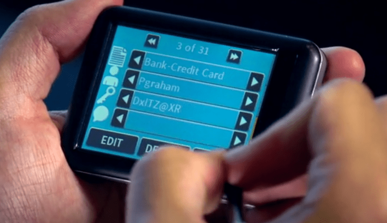 Gilmo is the handheld device that promises to keep your passwords safe from hackers