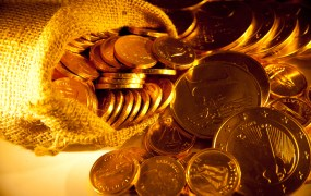 Gold coins kao Shutterstock