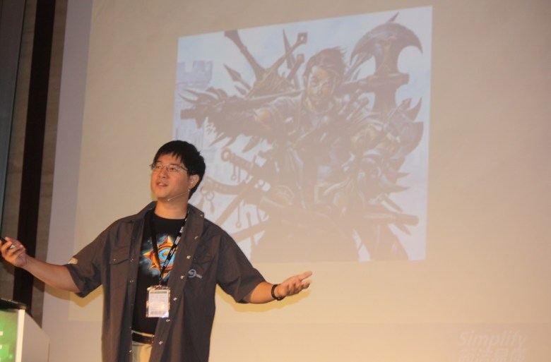 Hamilton Chu, exec producer of Hearthstone at Blizzard