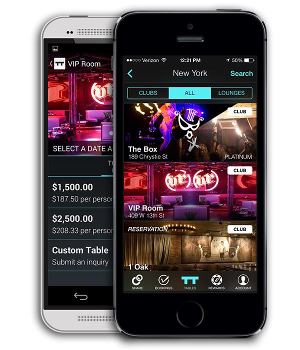 TableList on Android