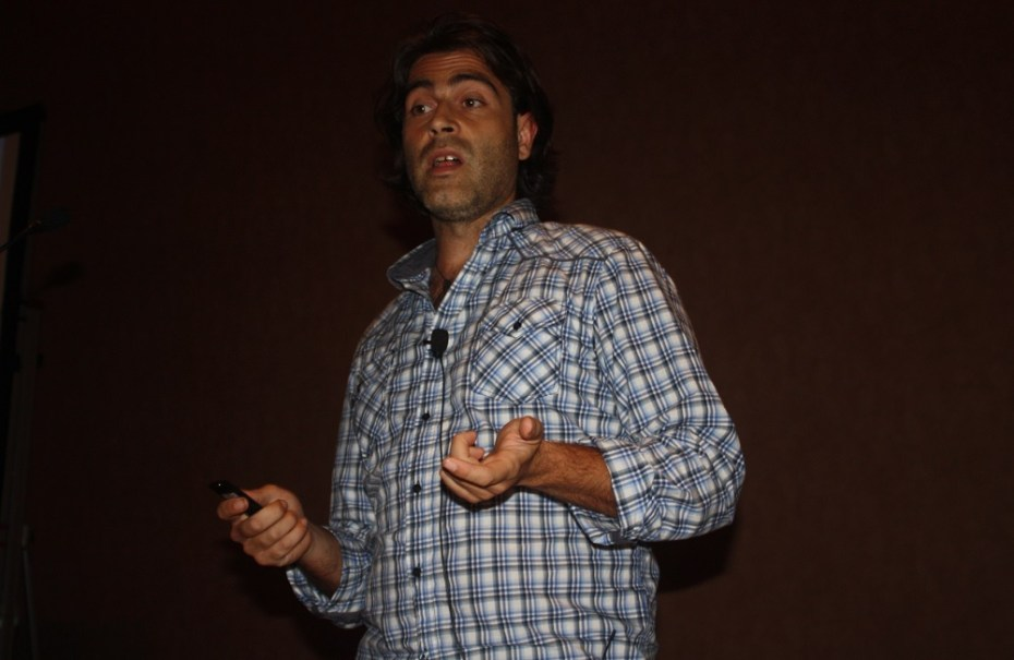 Security researcher Jesus Molina at Black Hat