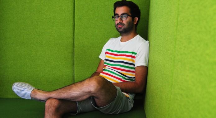 Jinder Sidhu, the London-based founder of Kangaroom.net.