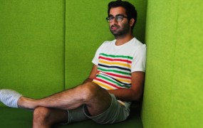 Jinder Sidhu, the London-based founder of Kangaroom.net.