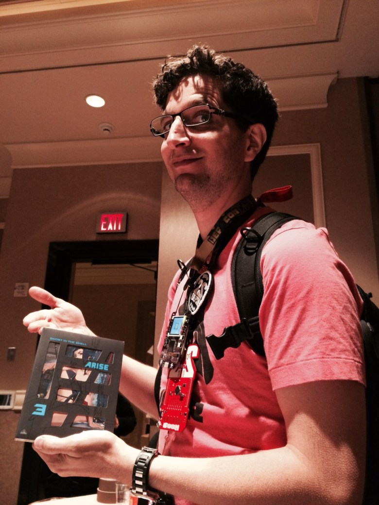 Defcon founder Jeff Moss and his new Japanese DVD