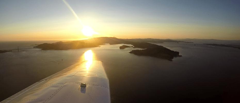 Flytenow -- SF bay shot
