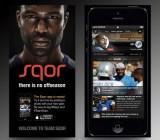 Sqor mobile app