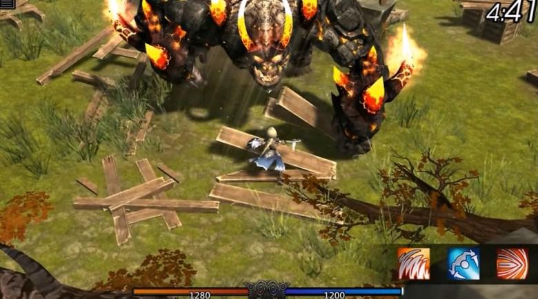 The World II features big boss battles.