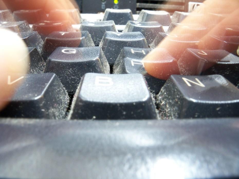 Typing Kiran Foster Flickr