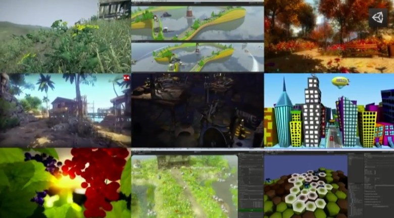Games using the Unity Technologies game engine.