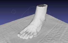 A 3D foot model by Volumental