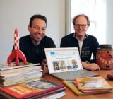 Catawiki founders René Schoenmakers and Marco Jansen.
