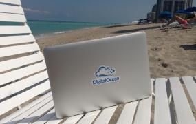 DigitalOcean beach Facebook page