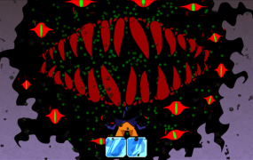 Fenix Rage boss battle teeth
