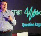 Wooga CEO Jens Begemann speaking at GamesBeat2014.