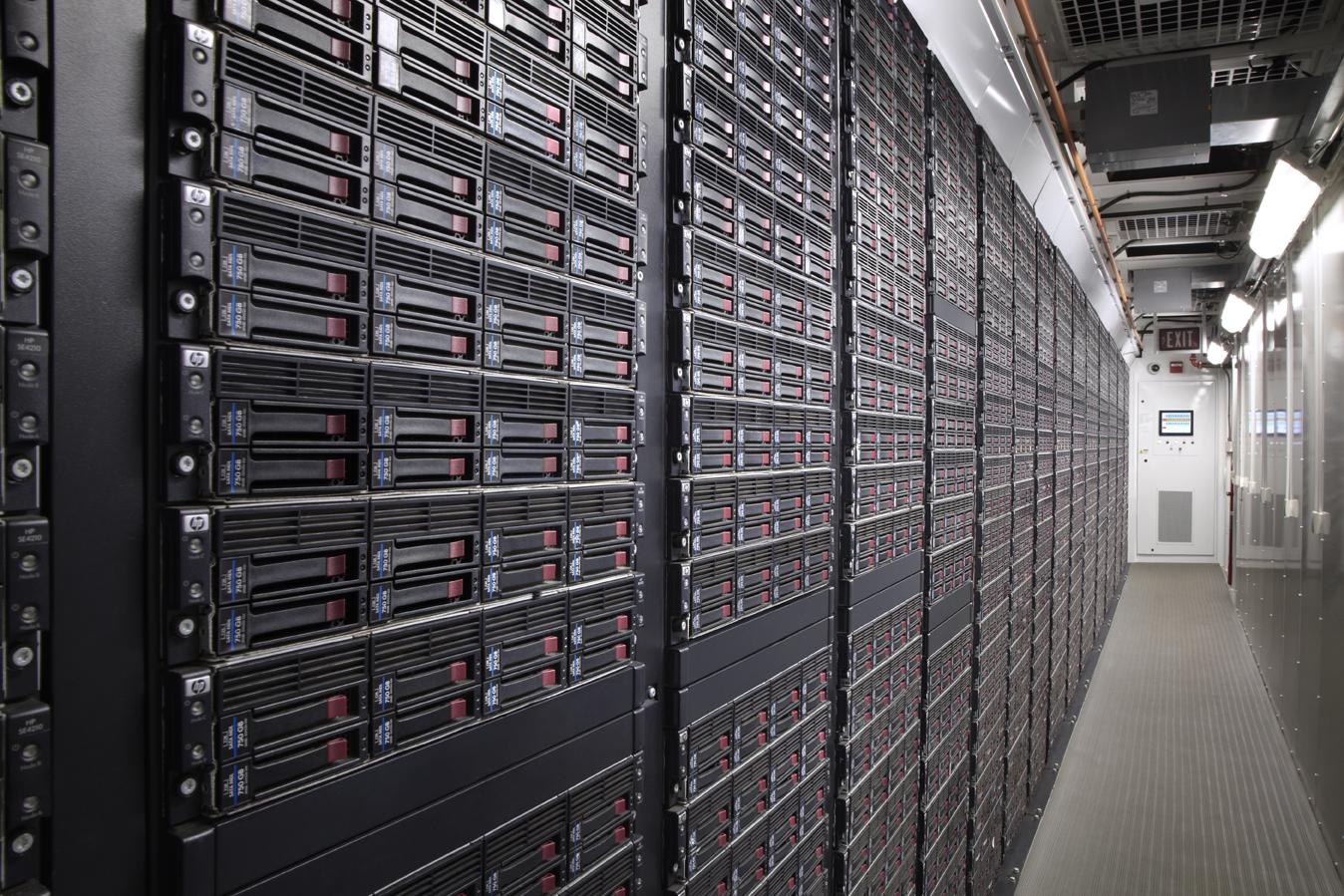 HP servers.