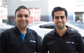 InMobi's Amit Gupta and Atul Satija.