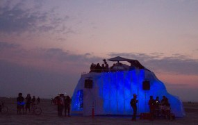 Justin Kan says building a refrigerated art car for Burning Man was his proudest achievement of 2014.