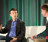 Daniel Kraft of Singularity University speaks with VentureBeat's Mark Sullivan at VentureBeat's 2014 HealthBeat conference in San Francisco on Oct. 27.