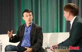 Daniel Kraft of Singularity University speaks with VentureBeat's Mark Sullivan at VentureBeat's 2014 HealthBeat conference in San Francisco on Oct. 27.