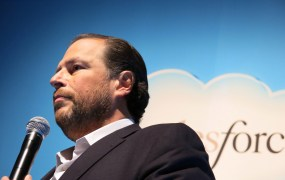 Salesforce chief executive and co-founder Marc Benioff.