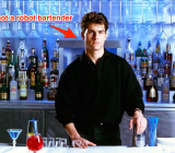 "Tom Cruise in ""Cocktail"" was definitely not a robot."