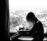 Reading window Arek Olek Flickr