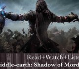 Read+Watch+Listen: Shadow of Mordor