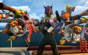 You have a lot of big guns in Sunset Overdrive.