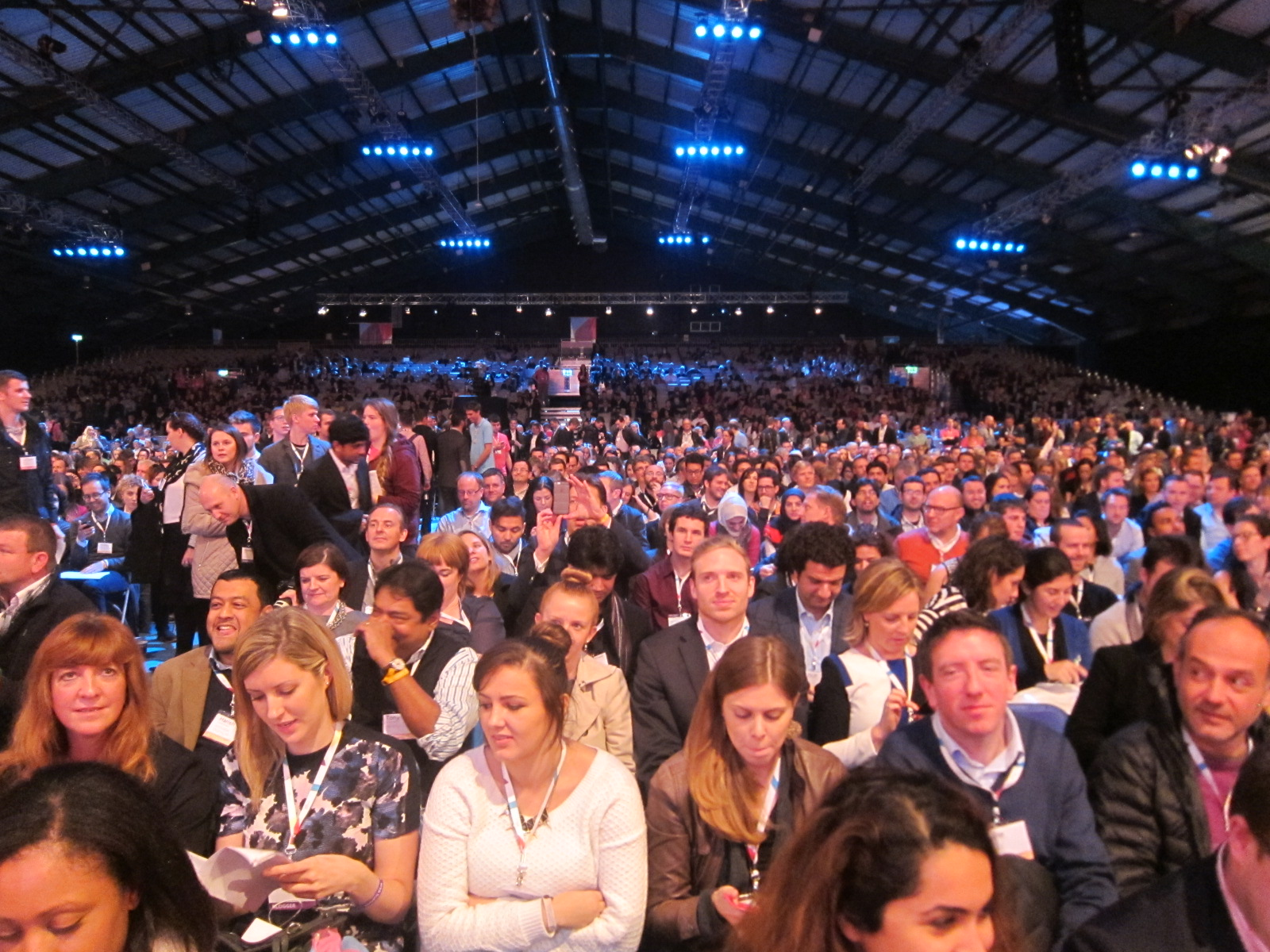 22,000 attended the 2014 Web Summit in Dublin.