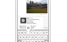 Twitter sharing tweets through direct message