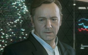 Kevin Spacey eyes the stacks of cash the Havoc DLC is pulling in.